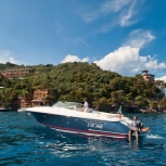 DISCOVER THE BEAUTIES OF THE LIGURIAN COAST ON BOARD OF THE HOTEL'S MOTOR LAUNCH CHRIS-CRAFT CORSAIR 36